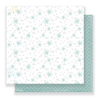 Лист двусторонней бумаги  Crate Paper - LITTLE YOU - LITTLE TOES 30*30 см