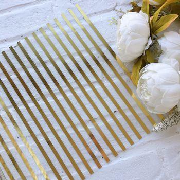 Ацетатный лист WR Gold Stripe