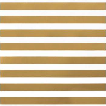 Кардсток American Crafts -  THICK GOLD STRIPE 30*30 см