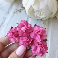 Роза, цвет малиновый 2.5 см*2