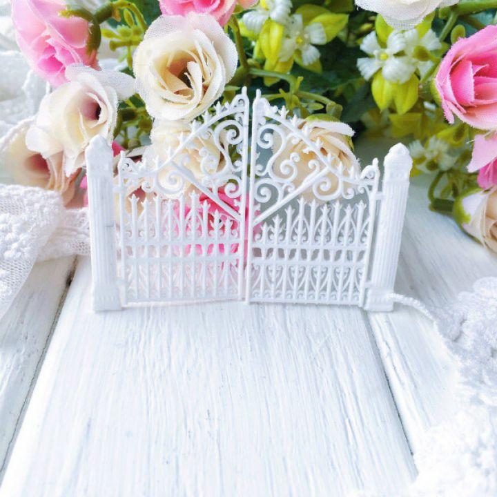 "Фигурка из пластика ""Ворота"",цвет белый"