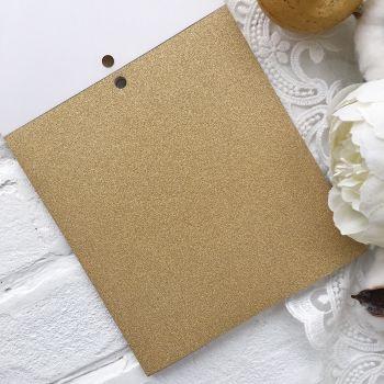Лист односторонней бумаги  Solid Golds DCWV 15*15 см *1