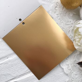 Лист односторонней бумаги  Solid Golds DCWV 15*15 см *6