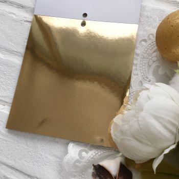 Лист односторонней бумаги  Solid Golds DCWV 15*15 см *2