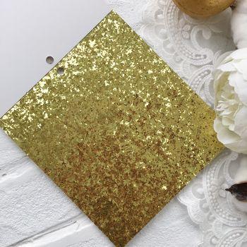 Лист односторонней бумаги  Solid Golds DCWV 15*15 см *5