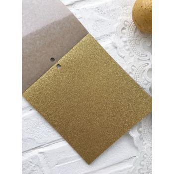 Лист самоклеющейся бумаги DCWV Metallics 15*15 см *1