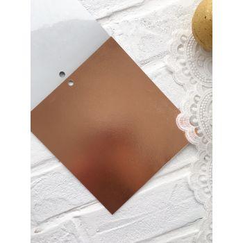 Лист самоклеющейся бумаги DCWV Metallics 15*15 см *6