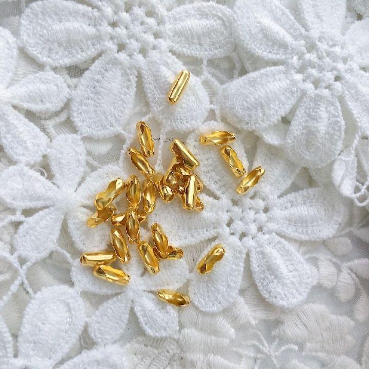 Застежка для цепочки 2.4 мм, цвет золото