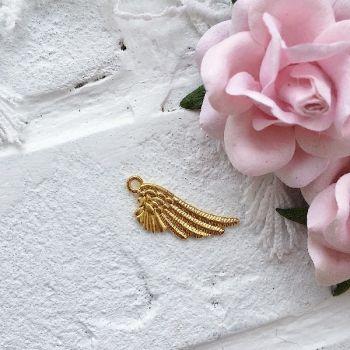 """Подвеска """"Крыло"""", золото"""