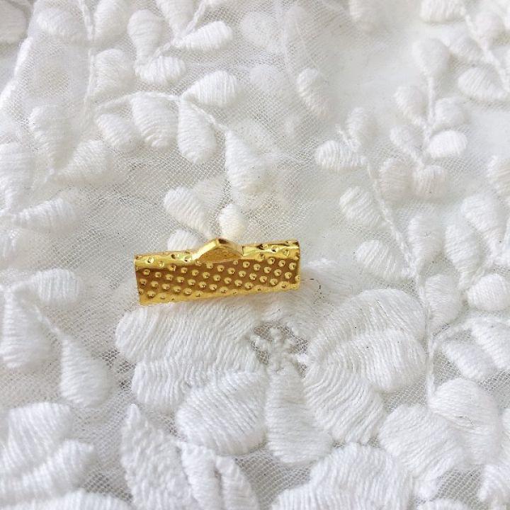Зажим для ленты 25 мм, золото