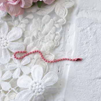 Цепочка 2.4 мм, цвет розовый