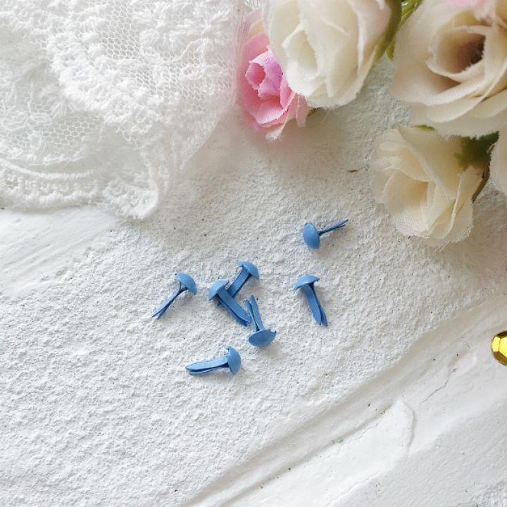 Брадс. Цвет голубой 5 на 9 мм