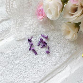 Брадс. Цвет фиолетовый 5 на 9 мм