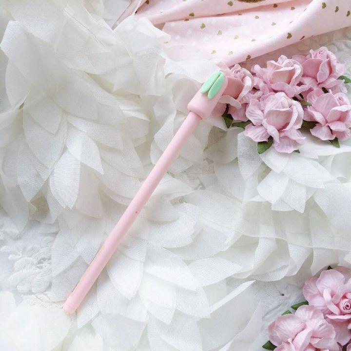 """Ручка гелевая """"Ушки"""", цвет нежно-розовый"""