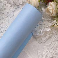 Матовый переплетный кожзаменитель, цвет васильково-голубой 35*25 см