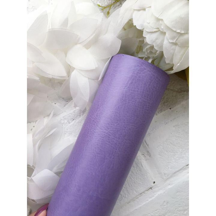 Глянцевый переплетный кожзаменитель, сиреневый 35*25 см