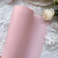 Матовый переплетный кожзаменитель, цвет нежно-розовый 25*70 см