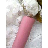 Матовый переплетный кожзаменитель, цвет пепельной розы  25*70 см