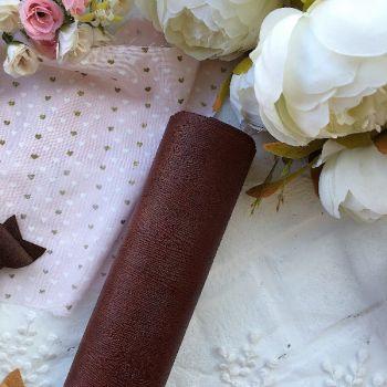 """Матовый переплетный кожзаменитель (фактура """" дерево""""), цвет коричневый 35*25 см"""