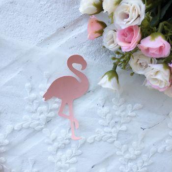 """Вырубка из кожзама """"Фламинго"""""""