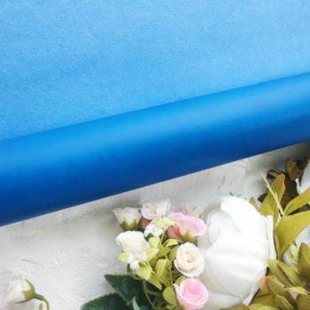Матовый переплетный кожзаменитель, цвет ярко-синий 35*25 см