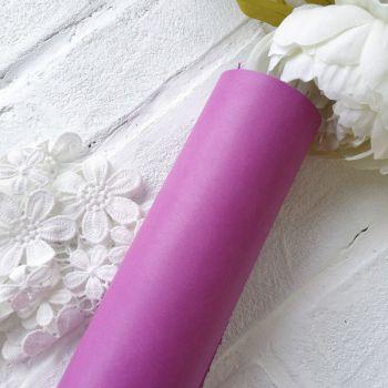 Матовый переплетный кожзаменитель, цвет лиловый 35*25 см