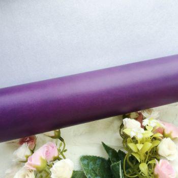 Матовый переплетный кожзаменитель, цвет фиолетовый 35*25 см