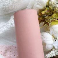 Матовый переплетный кожзаменитель, цвет пыльно-розовый 35*25 см