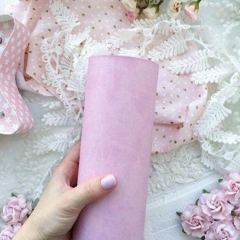 Матовый переплетный кожзаменитель, цвет розово-лиловый 35*25 см