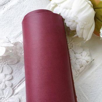 Матовый переплетный кожзаменитель, цвет красное вино 25*70 см