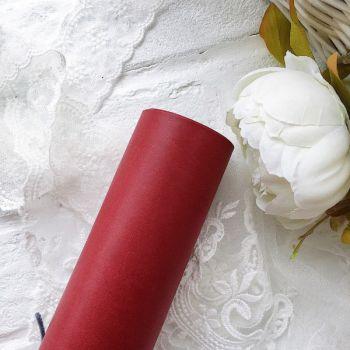 Матовый переплетный кожзаменитель, цвет бордо 35*25 см