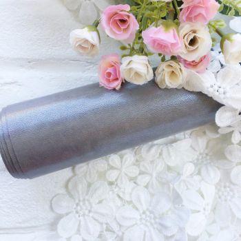 Глянцевый переплетный кожзаменитель, цвет серебряный 35*25 см