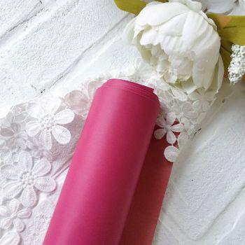 Матовый переплетный кожзаменитель, цвет малиновый 35*25 см