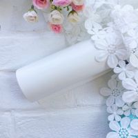 Глянцевый переплетный кожзаменитель, цвет белый 35*25 см