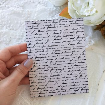 Карточка с конвертом BoBunny Early Bird *5