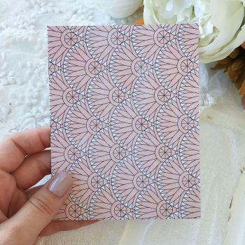 Карточка с конвертом BoBunny Early Bird*8