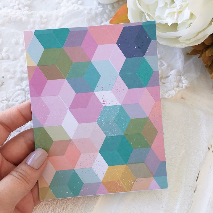 Карточка с конвертом Heidi Swapp Pineapple Crush*3