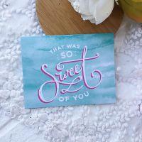 Карточка с конвертом Heidi Swapp Pineapple Crush*9