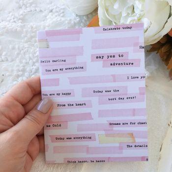 Карточка с конвертом Maggie Holmes Chasing Dreams*4