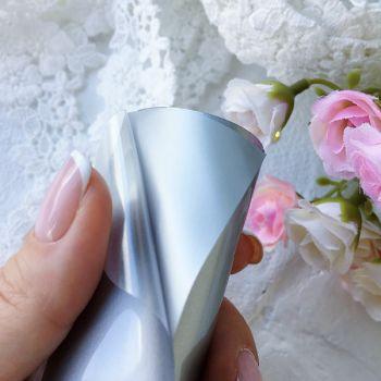 Термотрансферная пленка матовая , цвет Silver 10*25 cм