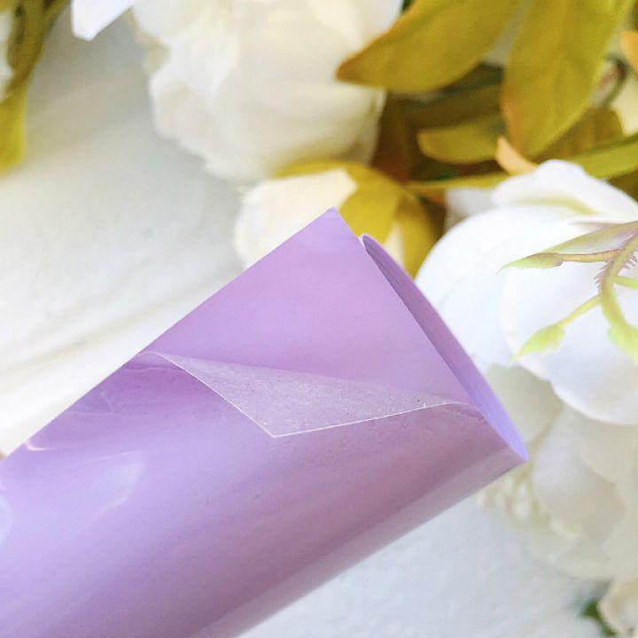 Термотрансферная пленка матовая , цвет Lilac 10*25 cм