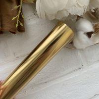 Термотрансферная пленка metallic , цвет Gold Foil 10*25 cм
