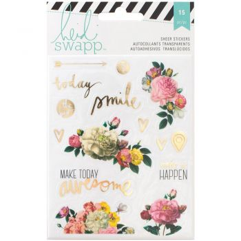 Наклейки Heidi Swapp Memory Planner Clear Stickers