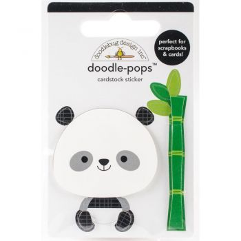 3D наклейка  Polly Panda - Doodlebug Doodle-Pops 3D Stickers At The Zoo