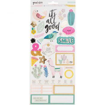 Наклейки Good Vibes Cardstock Stickers