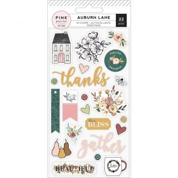 Наклейки  Auburn Lane Puffy Stickers