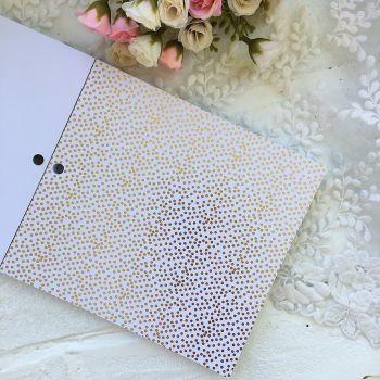 Лист односторонней бумаги  Gold Foil 15*15 см *2