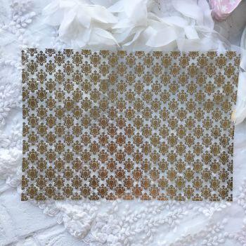 Ацетатный лист Hunkydory Sparkle & Shine Mirri Magic Foiled A4 Acetate *4 Gold