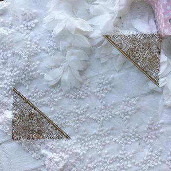 Ацетатный лист Hunkydory Sparkle & Shine Mirri Magic Foiled A4 Acetate *2 Gold