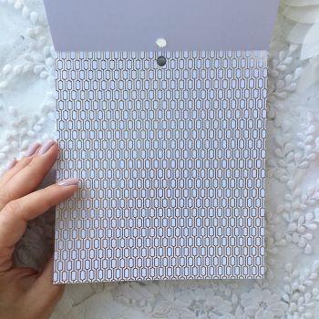 Лист односторонней бумаги  Gold Foil 15*15 см *10